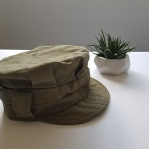 Divided Women's Green Hat, Army Green, US Size S/M